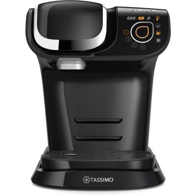 Tassimo by Bosch My Way TAS6002GB Pod Coffee Machine - Black Best Price, Cheapest Prices