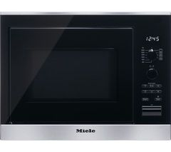 MIELE M6022SC Built-in Microwave with Grill - Stainless Steel Best Price, Cheapest Prices