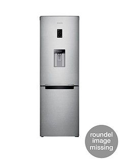 Samsung RB31FDRNDSA/EU 60cm Frost-Free Fridge Freezer with Digital Inverter Technology - Silver,5 Year Samsung Parts and Labour Warranty Best Price, Cheapest Prices