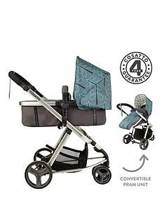 Cosatto Cosatto Giggle Mix 2-In-1 Pram &Amp; Pushchair - Fjord Best Price, Cheapest Prices