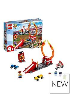 LEGO Juniors 10767 Toy Story 4 Duke Caboom'sStunt Show Best Price, Cheapest Prices