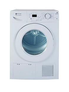 White Knight B96M8WR 8kg Sensor Condensor Tumble Dryer Best Price, Cheapest Prices