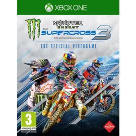 Monster Energy Supercross 3 Xbox One Pre-Order Game Best Price, Cheapest Prices