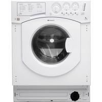 Hotpoint BHWM129 7kg 1200rpm Integrated Washing Machine Best Price, Cheapest Prices