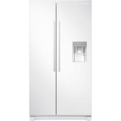 Samsung RS3000 RS52N3313WW American Fridge Freezer - White - A+ Rated Best Price, Cheapest Prices
