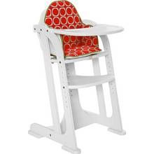 East Coast Multiheight Baby Highchair - White Best Price, Cheapest Prices