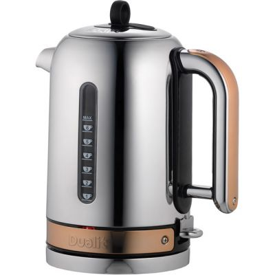 Dualit Classic 72820 Kettle - Chrome / Copper Best Price, Cheapest Prices