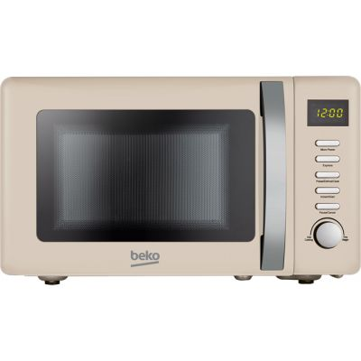 Beko Retro MOC20200C 20 Litre Microwave - Cream Best Price, Cheapest Prices