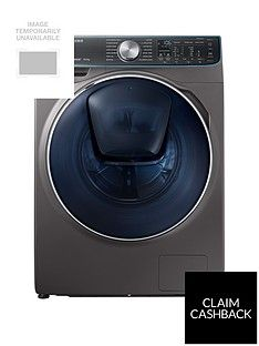 Samsung WW10M86DQOO/EU 10kg Load, 1600 Spin QuickDrive™ Washing Machine with AddWash™ -  Graphite Best Price, Cheapest Prices