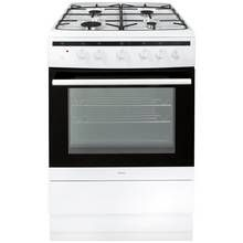 Amica 608GG5MSW Gas Cooker - White Best Price, Cheapest Prices