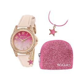 Tikkers Girls Watch, Necklace and Purse Gift Set Best Price, Cheapest Prices