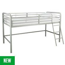 Argos Home Jo Silver Mid Sleeper Best Price, Cheapest Prices