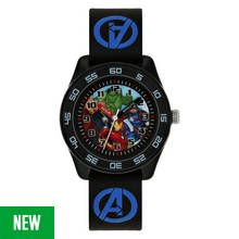 Marvel Avengers Time Teacher Black Silicone Strap Watch Best Price, Cheapest Prices
