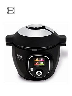 Tefal Cook4Me+ Connect CY855840 Electric Pressure Cooker - 6L / Black Best Price, Cheapest Prices