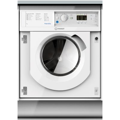 Indesit BIWMIL71452 Integrated 7Kg Washing Machine with 1400 rpm - A++ Rated Best Price, Cheapest Prices