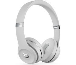 BEATS Solo 3 Wireless Bluetooth Headphones - Satin Silver Best Price, Cheapest Prices