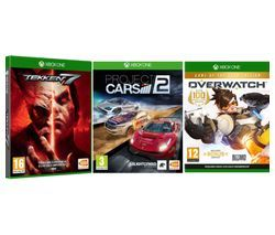 XBOX ONE Overwatch, Project Cars 2 & Tekken 7 Bundle Best Price, Cheapest Prices