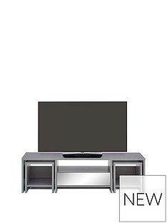 Kyoto Multi Functional Tv Unit With Mirror Effect Trims - Fits Up To 60 Inch Tv Best Price, Cheapest Prices