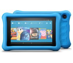 AMAZON Fire 7 Kids Edition Tablet (2017) - 16 GB, Blue Best Price, Cheapest Prices