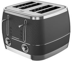 BEKO Cosmopolis TAM8402B 4-Slice Toaster - Black Best Price, Cheapest Prices