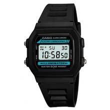 Casio Men's LCD Chronograph Black Resin Strap Watch Best Price, Cheapest Prices