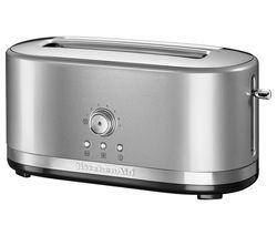 KITCHENAID 5KMT4116BCU 2-Slice Toaster - Silver Best Price, Cheapest Prices
