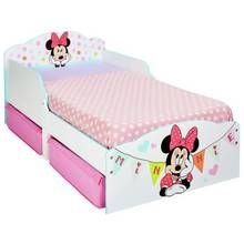 Minnie Mouse Toddler Bed with Drawers Best Price, Cheapest Prices