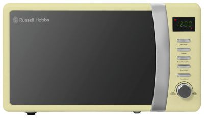 Russell Hobbs 700W Standard Microwave RHMD712 - Cream Best Price, Cheapest Prices