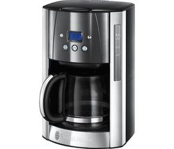 RUSSELL HOBBS Luna 23241 Filter Coffee Machine - Moonlight Grey Best Price, Cheapest Prices