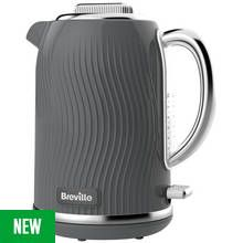 Breville VKT092 Flow Illuminating Kettle - Grey Best Price, Cheapest Prices