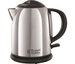 RUSSELL HOBBS Chester Compact 20190 Traditional Kettle - Stainless Steel Best Price, Cheapest Prices