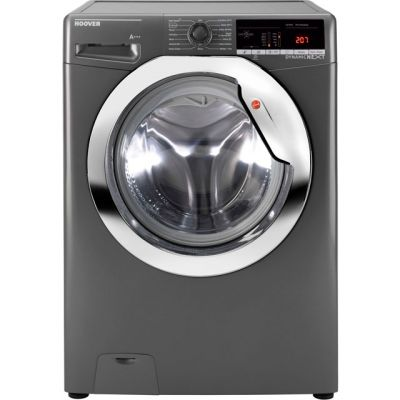 Hoover Dynamic Next DXOA410C3R 10Kg Washing Machine with 1400 rpm - Graphite - A+++ Rated Best Price, Cheapest Prices