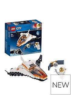 LEGO City 60224 Satellite Service Mission Space Port Mini Shuttle Best Price, Cheapest Prices