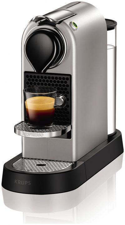 Nespresso by Krups Citiz Pod Coffee Machine - Silver Best Price, Cheapest Prices