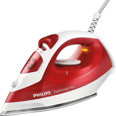 Philips Featherlight Plus GC1424/40 1400 Watt Iron -Red Best Price, Cheapest Prices
