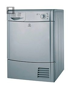 Indesit IDC8T3BS 8kg Load Condenser Tumble Dryer - Silver Best Price, Cheapest Prices