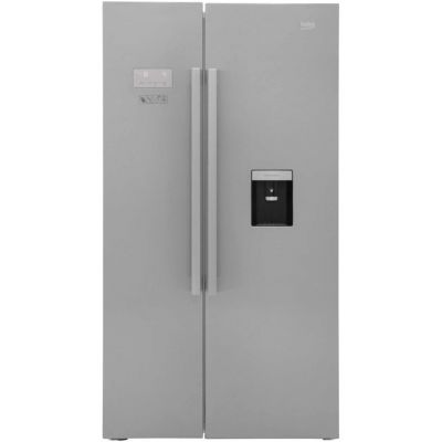 Beko ASD241X American Fridge Freezer - Stainless Steel - A+ Rated Best Price, Cheapest Prices