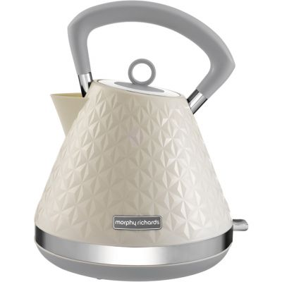 Morphy Richards Vector 108132 Kettle - Cream Best Price, Cheapest Prices