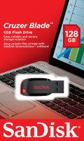 SanDisk SDCZ50-128G-B35 128GB Cruzer Blade USB Drive Best Price, Cheapest Prices