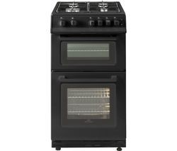 NEW WORLD 50GTC 50 cm Gas Cooker - Black Best Price, Cheapest Prices