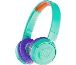 JBL JR300BT Wireless Bluetooth Kids Headphones - Teal Best Price, Cheapest Prices