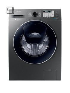 Samsung Ww70K5413Ux/Eu 7Kg Load, 1400 Spin Addwash&Trade; Washing Machine With Ecobubble&Trade; Technology - Graphite Best Price, Cheapest Prices