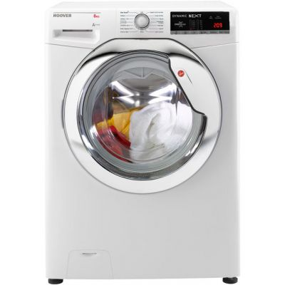 Hoover Dynamic Next Advance DXOA68C3 8Kg Washing Machine with 1600 rpm - White - A+++ Rated Best Price, Cheapest Prices