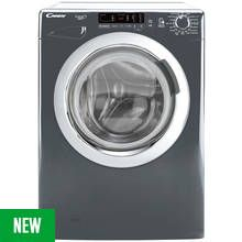 Candy GVS1410DC3R 10KG 1400 Spin Washing Machine - Graphite Best Price, Cheapest Prices