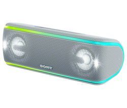SONY SRS-XB41 Portable Bluetooth Speaker - White Best Price, Cheapest Prices