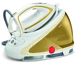 TEFAL Pro Express Ultimate GV9581 Steam Generator Iron - White & Gold Best Price, Cheapest Prices
