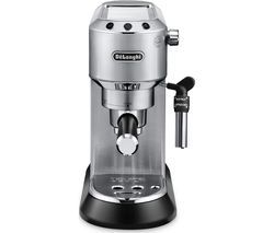 DELONGHI Dedica EC685M Coffee Machine - Silver Best Price, Cheapest Prices