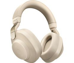 JABRA Elite 85H Wireless Bluetooth Noise-Cancelling Headphones - Gold Beige Best Price, Cheapest Prices