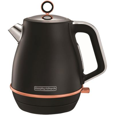 Morphy Richards Evoke Special Edition 104414 Kettle - Black / Rose Gold Best Price, Cheapest Prices