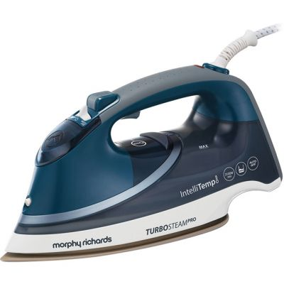 Morphy Richards Turbosteam Pro 303131 3100 Watt Iron -Grey / Blue Best Price, Cheapest Prices